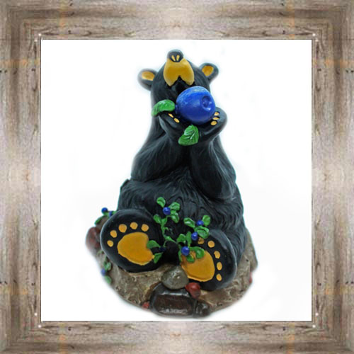 Bear Sitting w/ Huckleberry $17.99 #7505