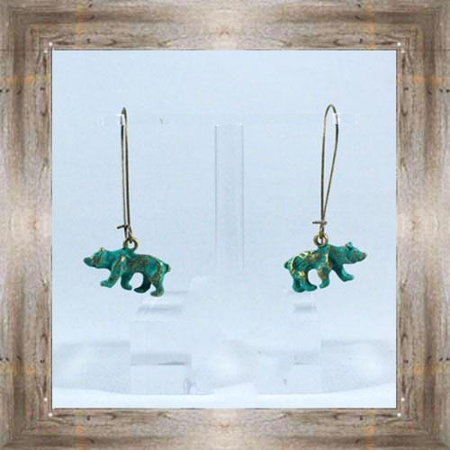 Charm Earrings (Bears) $14.99 #6526
