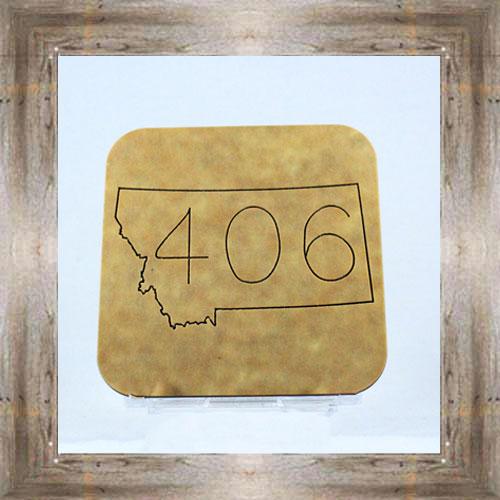 """""""406"""" Coaster $7.00 ea #2601"""