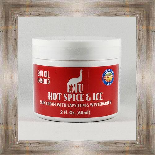 Hot Spice & Ice Rub $22.00 #4552