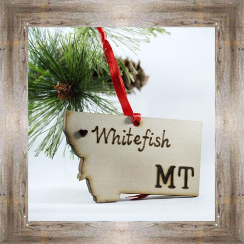 Whitefish MT Ornament $7.99 #777