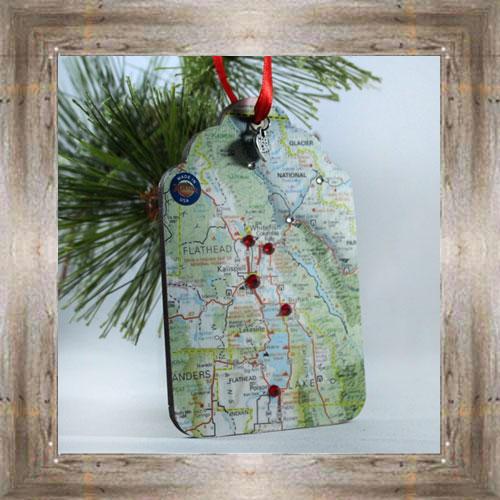 MT Map Ornament $7.99 #777