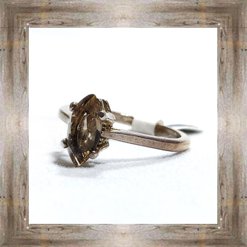 Genuine Montana Smoky Quartz Ring $89.99 #6490