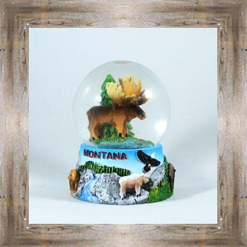 MT Snow Globe (Moose) $12.50 #2391