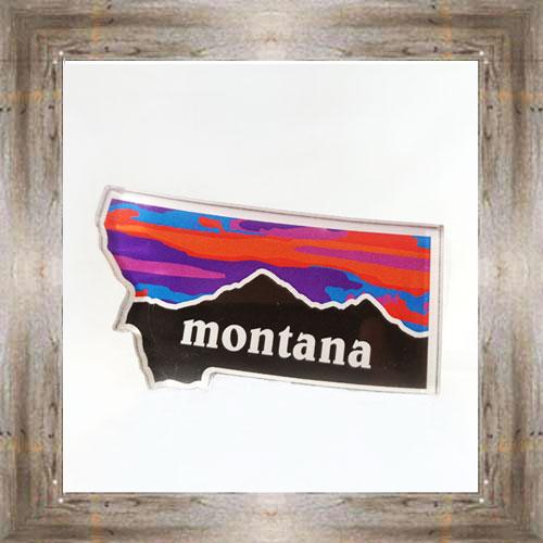 Mountain Sunset Magnet $6.75 #7178