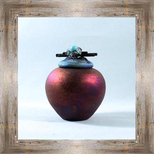 Raku Dream Jar $12.50 #7482