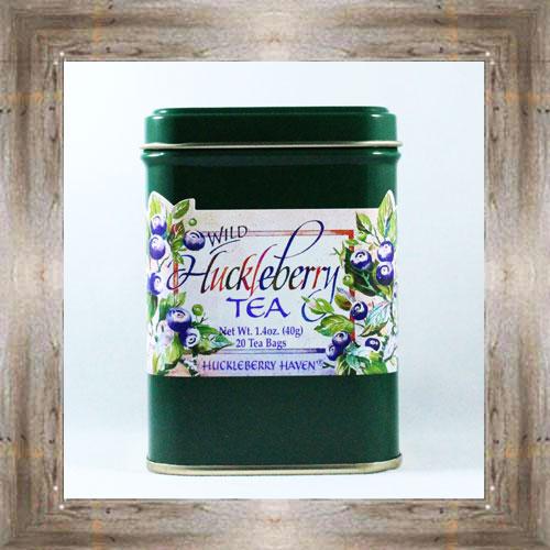 Huckleberry Tea Tin $6.25 #149