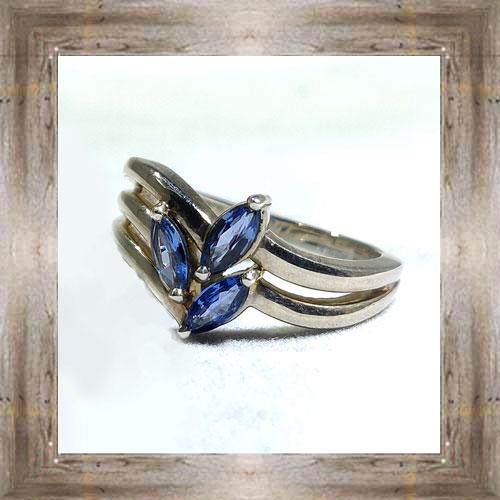 Genuine Montana Yogo Sapphire Ring $750.00 #7416