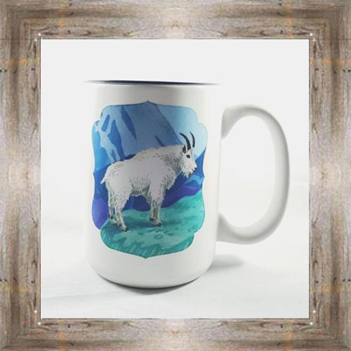 Mountain Goat Mug $16.50 #7973