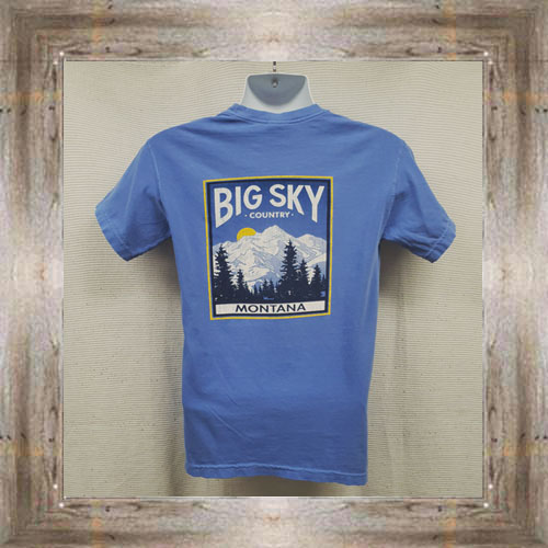 Big Sky Country (back view) $25.95 #7810
