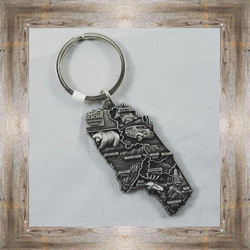 GNP 3D Metal Key Ring $6.75 #7472