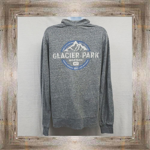 Glacier Full Zip Hoodie (back view) $34.99 #7891