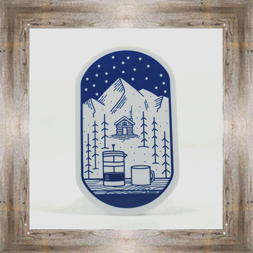 Large Sticker (Winter) $3.50 #7213