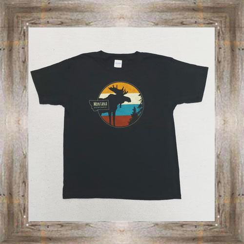 Moose MT Big Sky Youth Tee $16.99 #7609