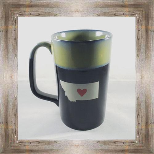 Montana Heart Mug (back view) $16.50 #7975