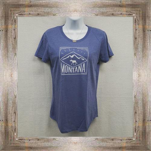 Montana Moose Ladies Tee $23.95 #5959