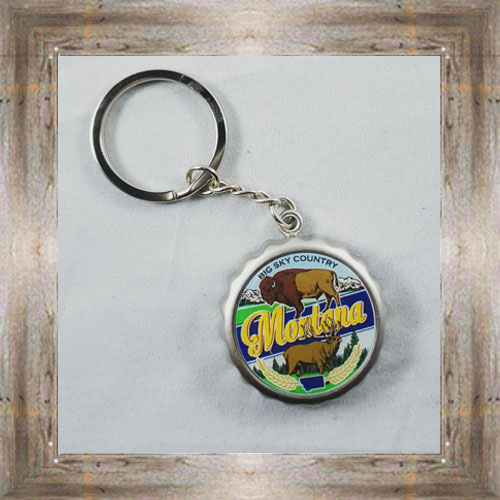 Montana Bottlecap Keychain $6.25 #7007