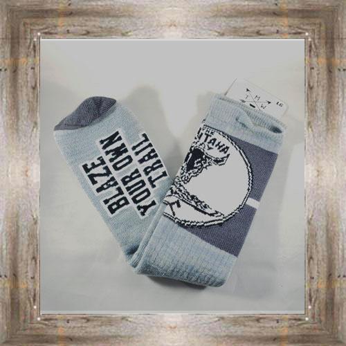 """""""Blaze Trail"""" MT Way Socks $12.99 #6586"""