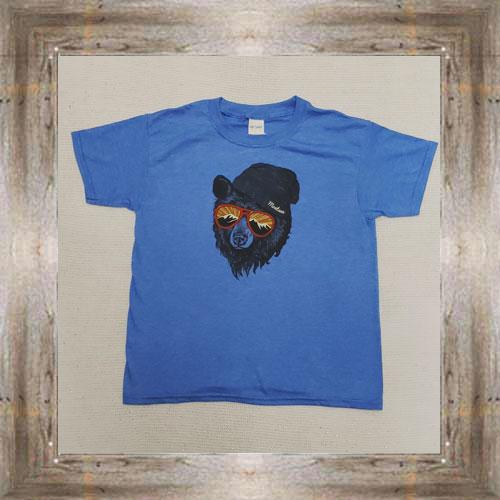 Bear With Sunglasses Youth Tee $16.95 #7461