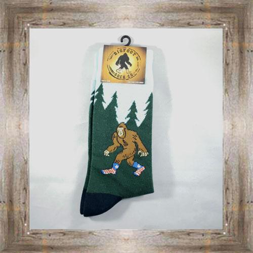 """""""Bigfoot"""" Adult Socks $10.50 #7299"""