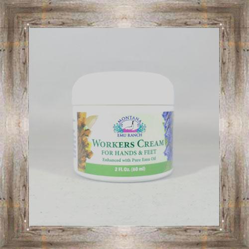 Worker's Cream w/ Emu Oil $14.35 #781