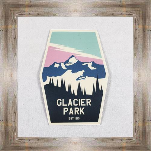 Large Sticker (Glacier Park) $3.50 #7213