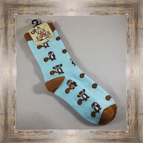 """Bigfoot"" (Squirrel) Kids Socks $6.50 #7300"