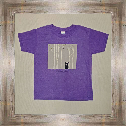 Can't See Me GNP Youth Tee (Purple) $16.95 #7929