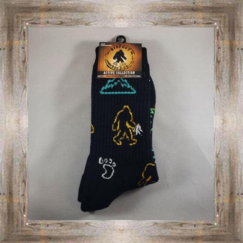 """Bigfoot"" Active Socks $12.99 #8142"