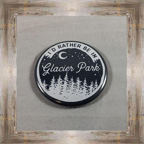 Glacier Park Button Magnet $4.99 #8173