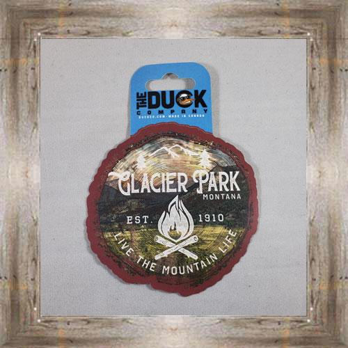 Duck Co. Sticker (Glacier) $4.00 #8176