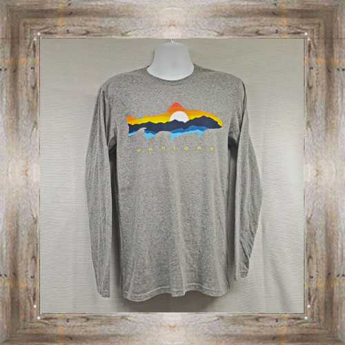 Mountain Trout Long Sleeve Tee $31.99 #8200