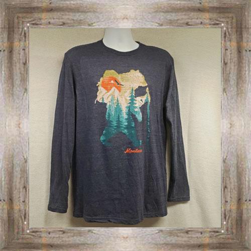 Bear Trek Long Sleeve Tee $31.99 #8279