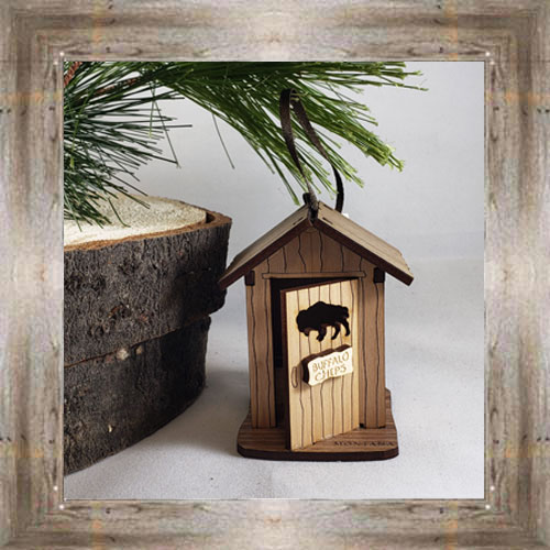 Outhouse Ornament $12.99 #8348