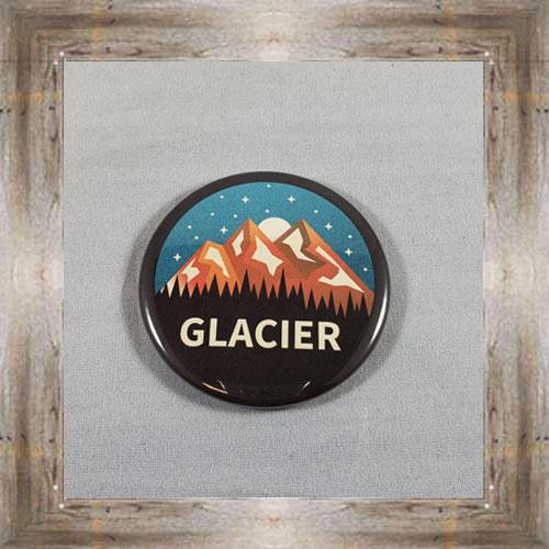 Glacier Button Magnet $4.99 #8173