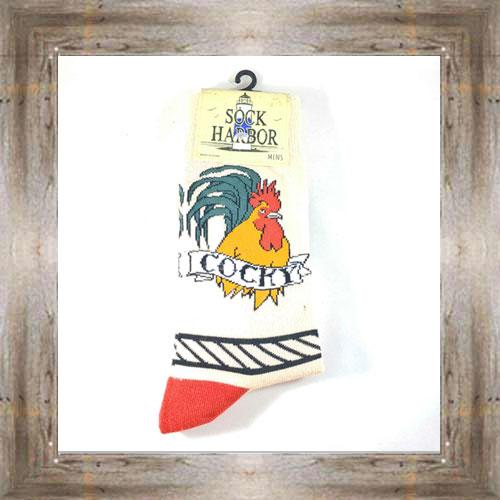"""Bigfoot"" (Rooster) Adult Socks $11.50 #7299"