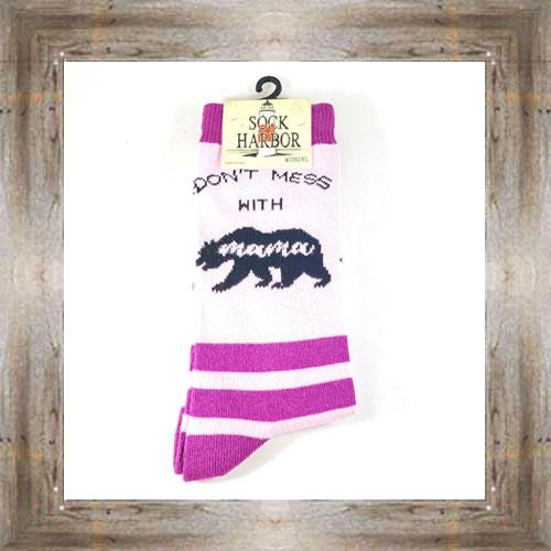 """Bigfoot"" (Mama) Adult Socks $11.50 #7299"