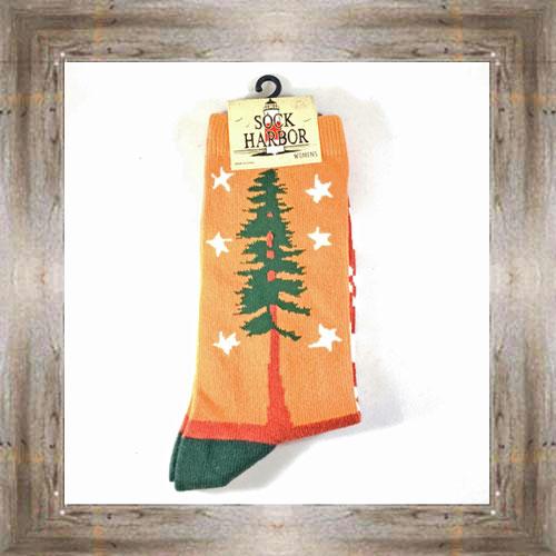 """""""Bigfoot"""" (Tree) Adult Socks $11.50 #7299"""