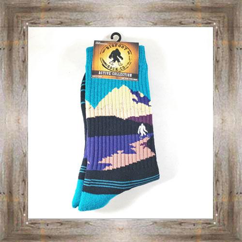 """Bigfoot"" (Mountain) Active Socks $12.99 #8142"