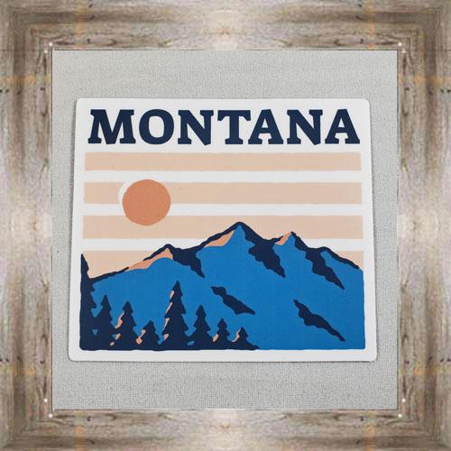 Large Sticker (Montana Sunset) $3.50 #7213