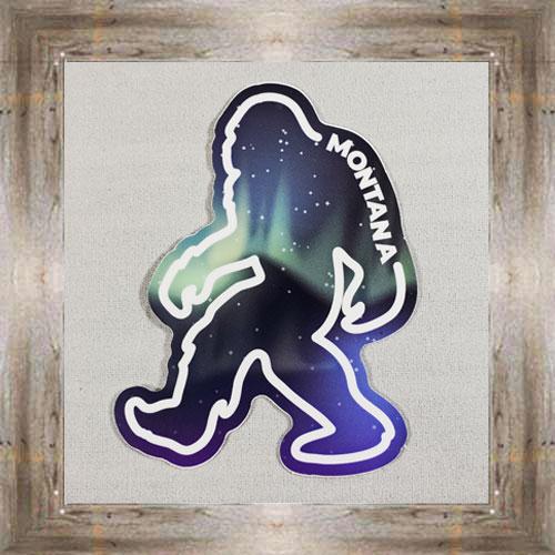 Large Sticker (Bigfoot) $3.50 #7213