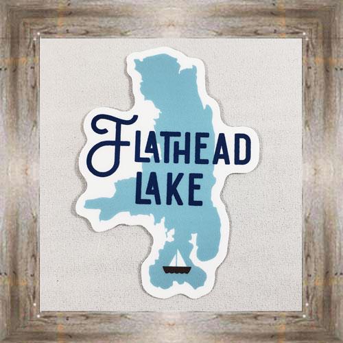 Large Sticker (Flathead Lake) $3.50 #7213