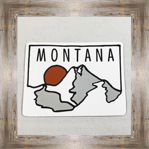Large Sticker (Montana) $3.50 #7213
