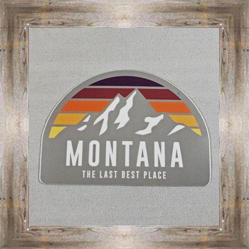 Large Sticker (Montana Mountains) $3.50 #7213