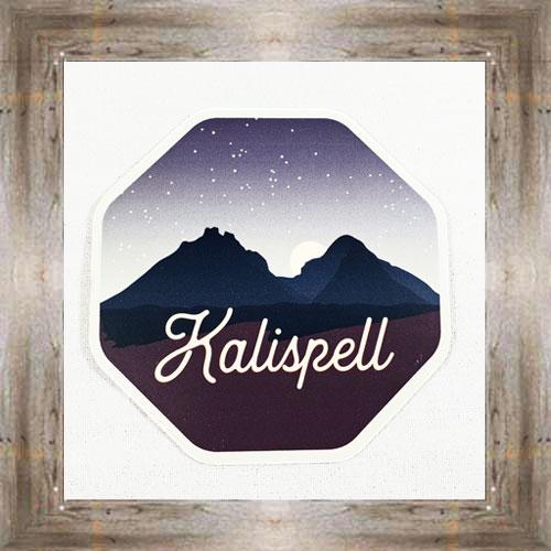 Large Sticker (Kalispell) $3.50 #7213