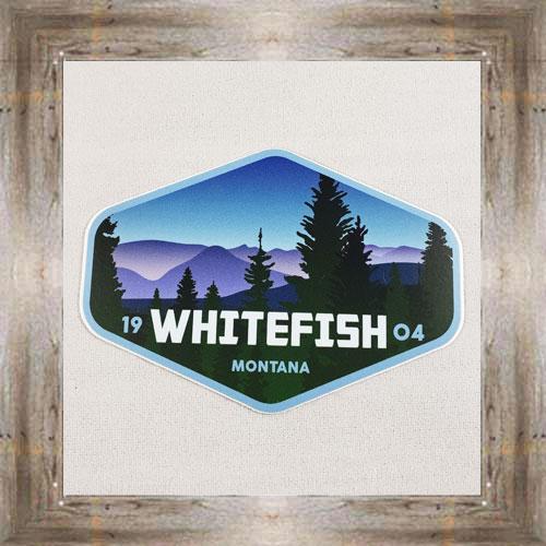 Large Sticker (Whitefish) $3.50 #7213