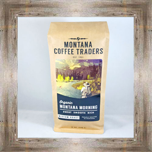 "Organic ""Montana Morning"" Coffee $15.80 #3876"