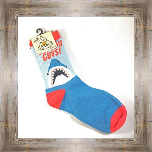 """Bigfoot"" (Shark) Youth Socks $6.50 #7300"