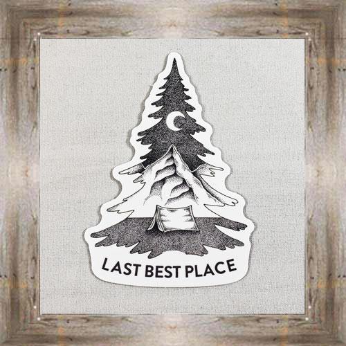 Large Sticker (Last Best Place) $3.50 #7213