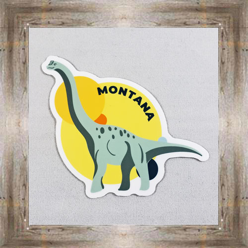 Large Sticker (Dinosaur) $3.50 #7213